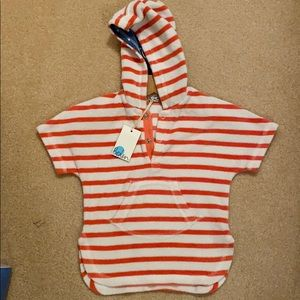 Baby boden terry swim cover up